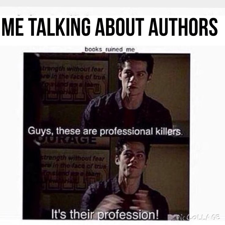 Authors? No, it's called murders