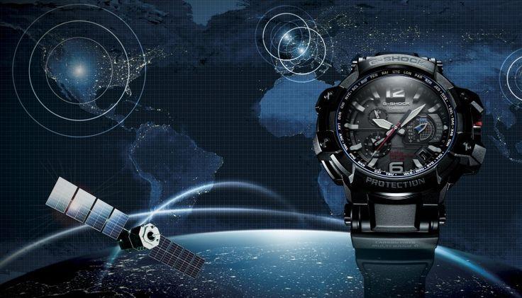 La montre Casio GPS Wave Ceptor GPW 1000 : une montre unique.