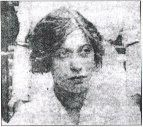 "Mrs. Edith Brown Haisman. She was 15 years old when placed in Lifeboat #13 as the Titanic sank. Her father, Thomas Brown, a glass of brandy in hand, waved from the deck saying ""I will see you in New York."" He did not survive."