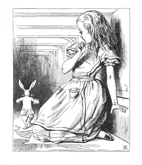John Tenniel - Oh! The Duchess, the Duchess! Oh! won't she be savage if I've kept her waiting!