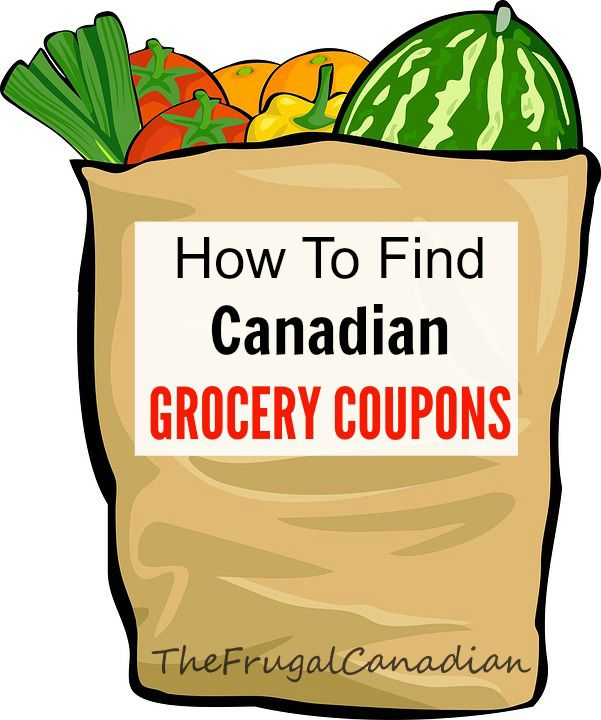 how to find grocery coupons in canada