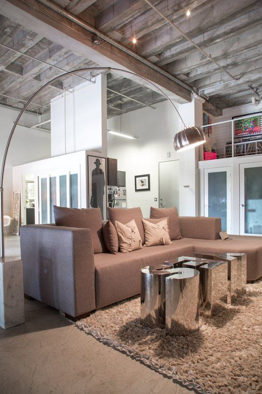 How To Properly Light a Living Room via Apartment TherapyHouse Tours, Coffee Tables, Ashley Soft, Apartments Therapy, Loft House, Living Room, Soft Industrial, Industrial Artists, Artists Loft