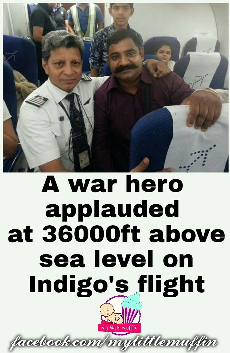 An Indigo pilot named Harish Nayani, who is an ex-NDA, erstwhile IAF fighter pilot, had a war-hero passenger on his flight the other day. This pilot did something for him that not many people must have tried to do in the near past.