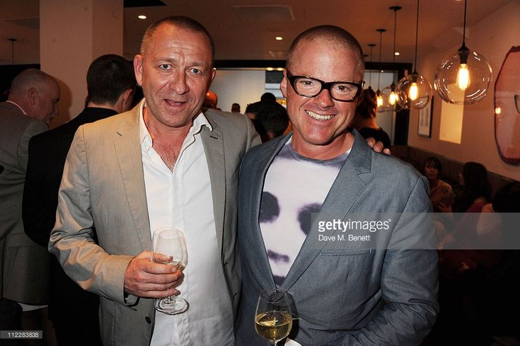 News Photo : Heston Blumenthal and Sean Pertwee attends Chef...