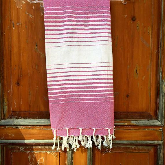 Check out this item in my Etsy shop https://www.etsy.com/listing/546603310/turkish-bath-towel-peshtemal-red-natural