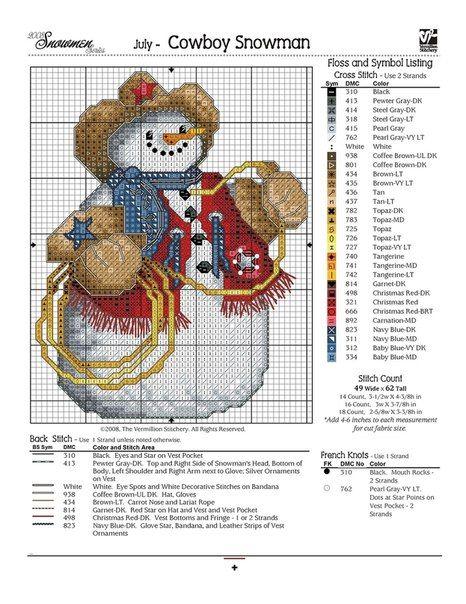 Christmas cross-stitch schemes