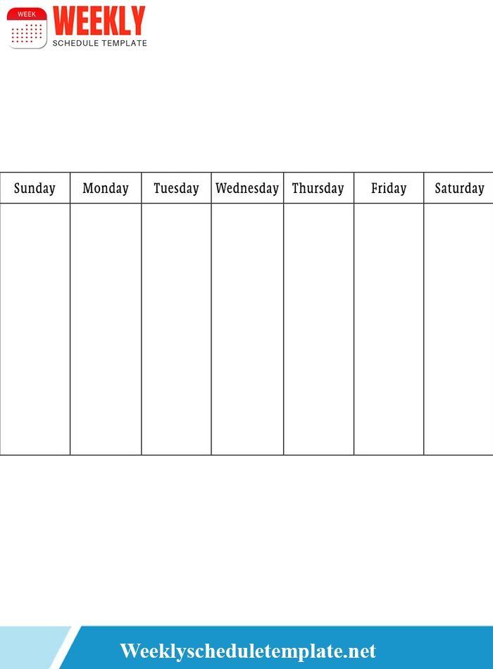 10 Free Weekly Weekly Schedule Calendar Templates Weekly Schedule Schedule Calendar Schedule Template
