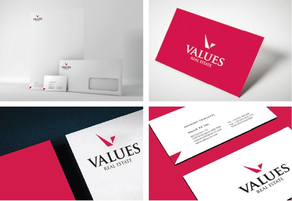 VALUES Real Estate. by PAOLO D'AMBROS, via Behance