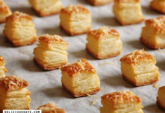 Pogacsa - Hungarian Chesese Pastries by Nicki Simpson