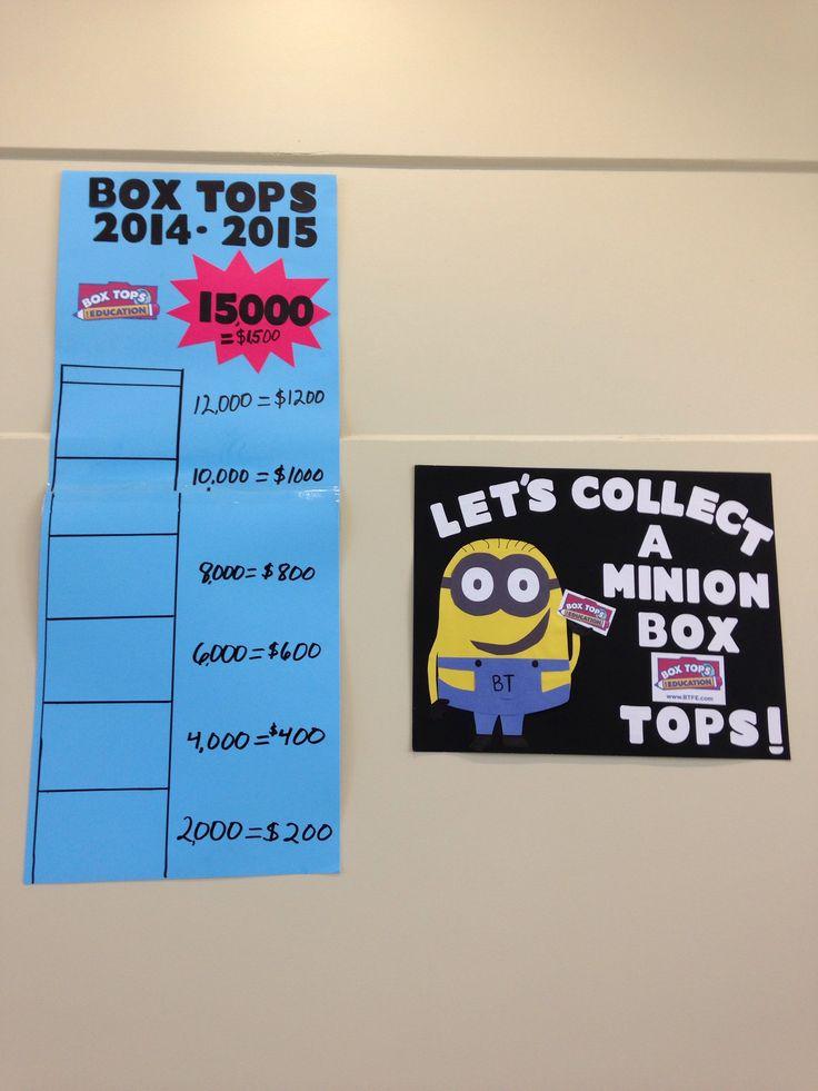 Box Top Goal Poster Box Tops Box Tops