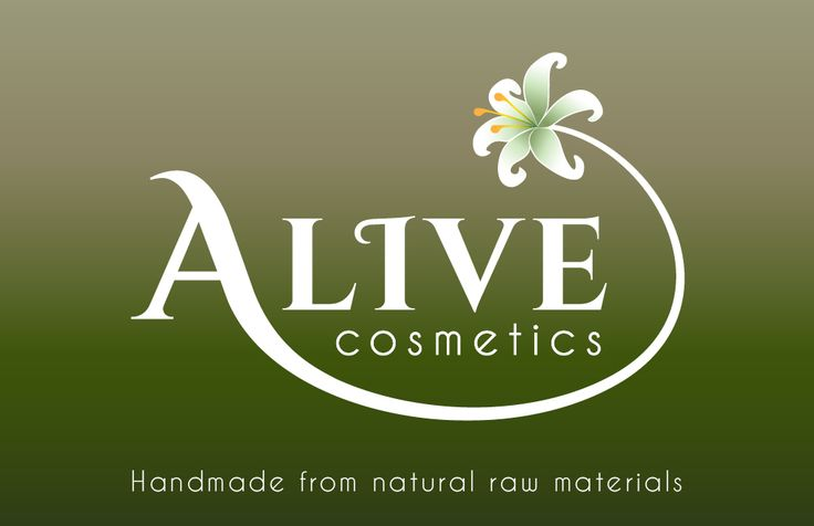 Business card for A-live Cosmetics (Front)