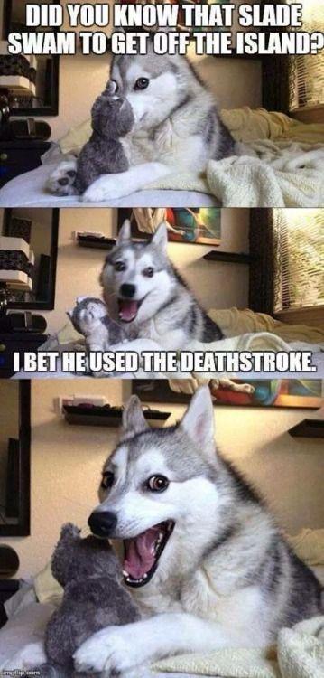 slade deathstroke joke