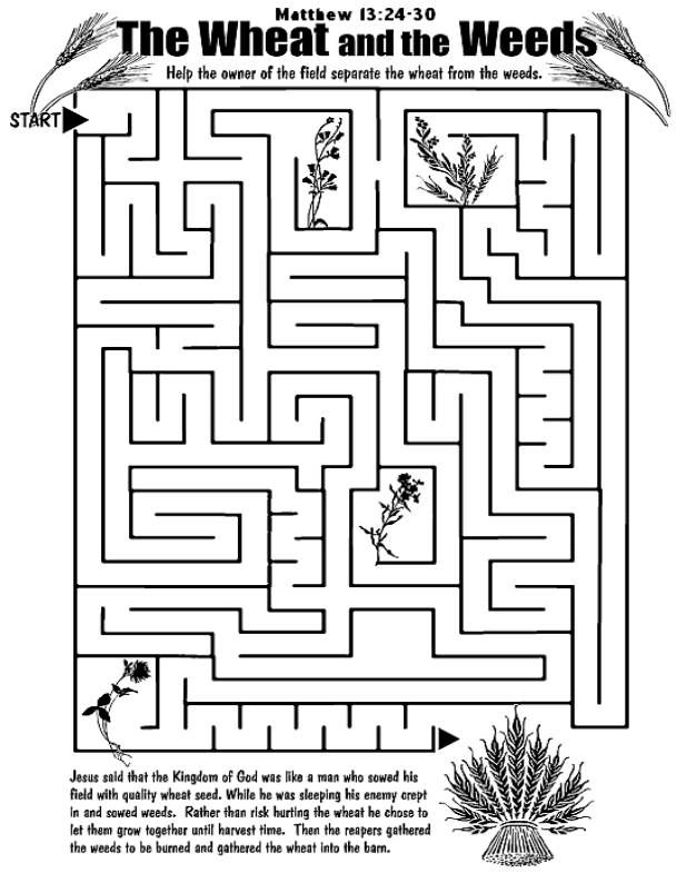 17 Best Images About Parable Coloring Pages On Pinterest