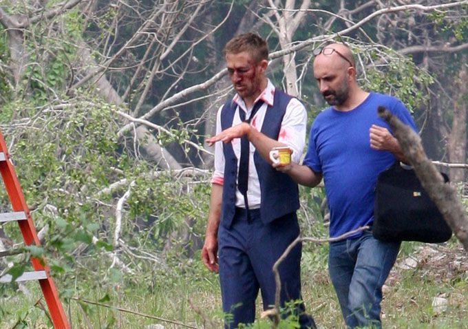 Drive director Nicolas Winding Refn called Irreversible director Gasper Noe midshoot for advice on how to successfully shoot a head smashing scene.