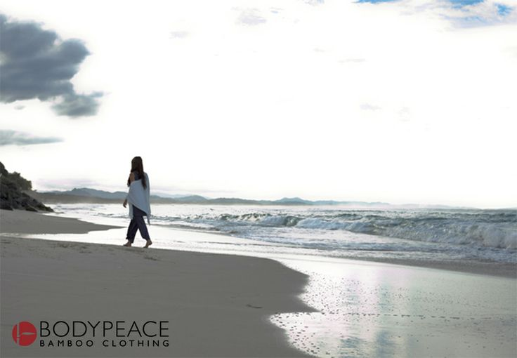 Belongil Beach in byron bay... or as we at Bodypeace fondly call it... home Bamboo clothing www.bodypeacebamboo.com