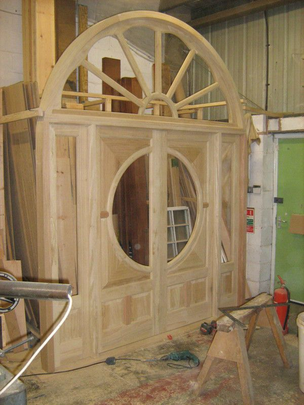Attractive In The Workshop @Merrin Joinery. Doors And Frame For Church. By Richard  Merrin