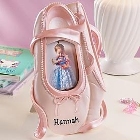 A Ballet Shoe Picture Frame For My Girls Ballet Themed Room Omg So Getting This