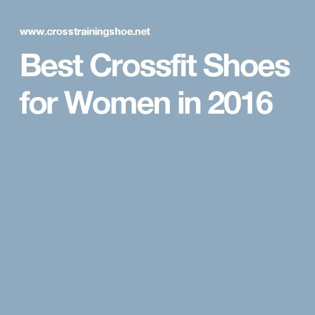 Best Crossfit Shoes for Women in 2016