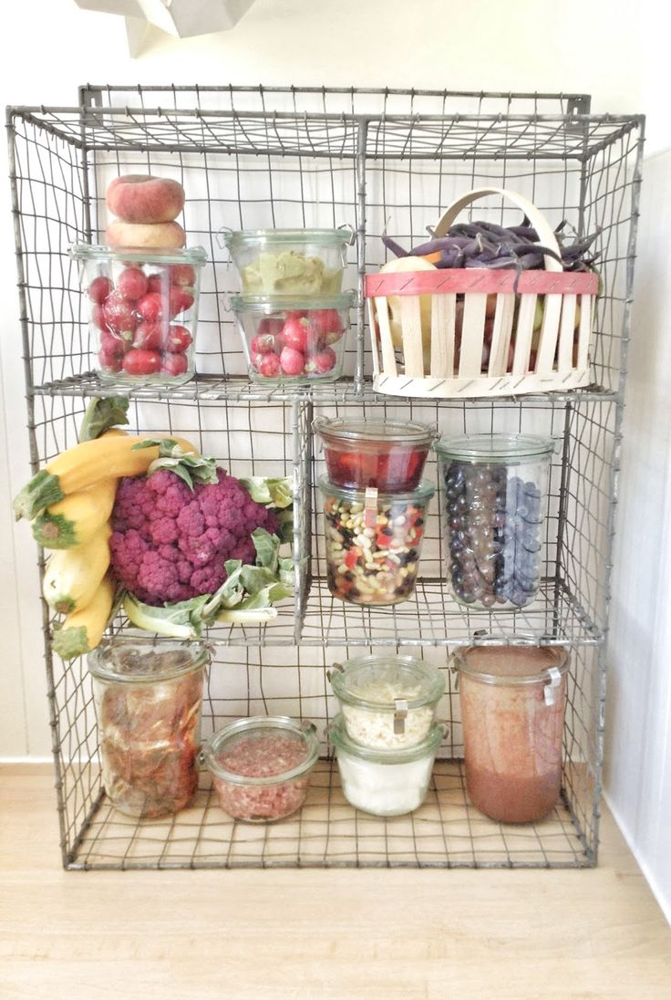 Storing Food Without the Refrigerator Plastic free life