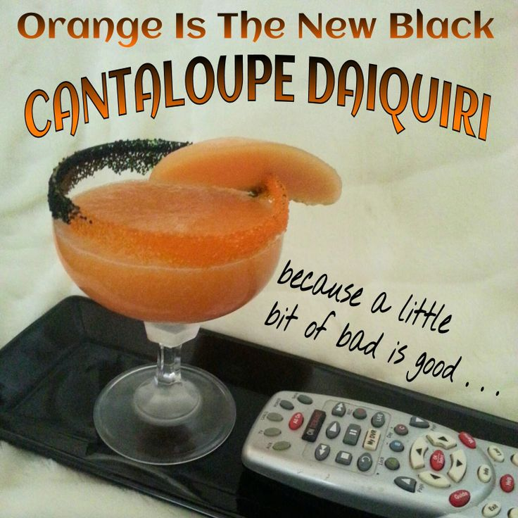 Binge watching #OrangeIsTheNewBlack this weekend? You'll need this cocktail! Click image for recipe.