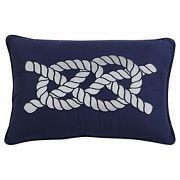 Rope Nautical Throw Pillow (12x18) - Seedlings by ThomasPaul®