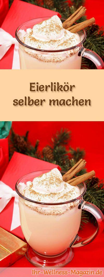 So einfach können Sie Eierlikör selber machen. Hier ein leckeres Rezept, das garantiert gelingen wird ... #weihnachten