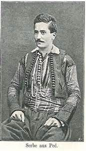 Србин из Пећи - Serbian man from Pec