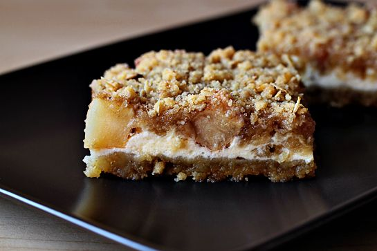 Caramel Apple Cheesecake Cookie Bars