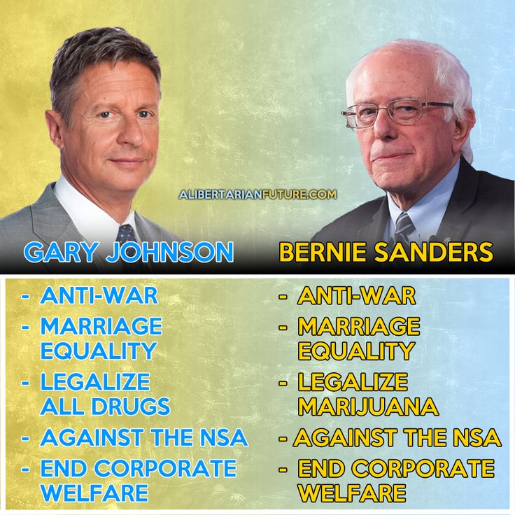 Here's Why Bernie Sanders Fans Should Support Gary Johnson When Hillary Gets The Nominati