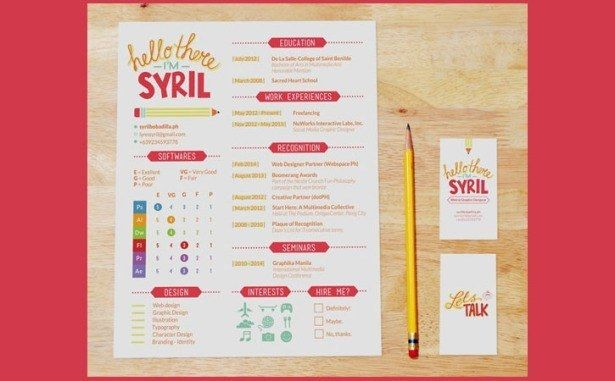 Happy Style  Get Your Dream Job With These Creative Ideas To Make Your CV Awesome • Page 4 of 5 • BoredBug