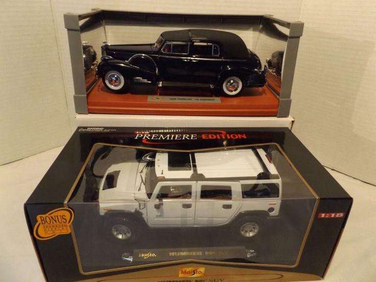 1:18 '38 CADILLAC FLEETWOOD & HUMMER H2 SUV