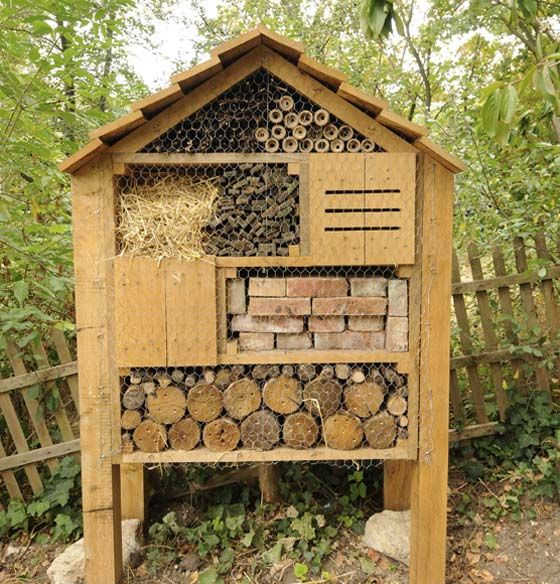 17 best images about h tel insectes bugs house on pinterest nature europe and ps - Hotel a insectes nature et decouverte ...
