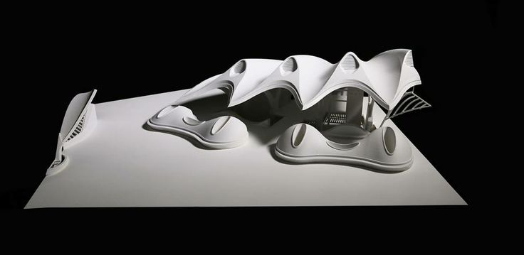 1:50 model of the Clam building in China #architecture #dunedin #model