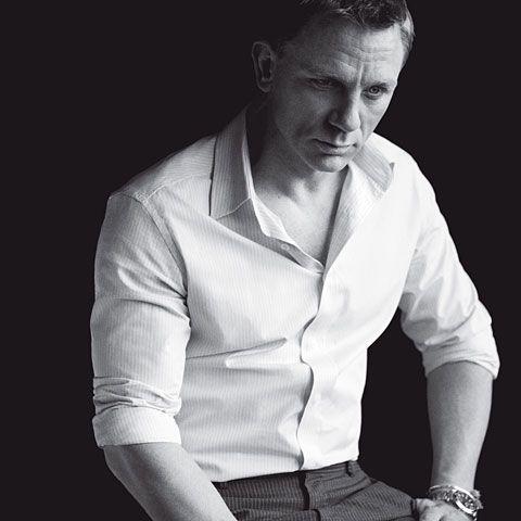 GQ.com: Daniel Craig: Leading Man  Shirt and pants by Prada; Watch, Omega..