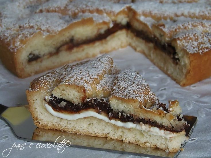 Crostata Morbida nutella e philadelphia
