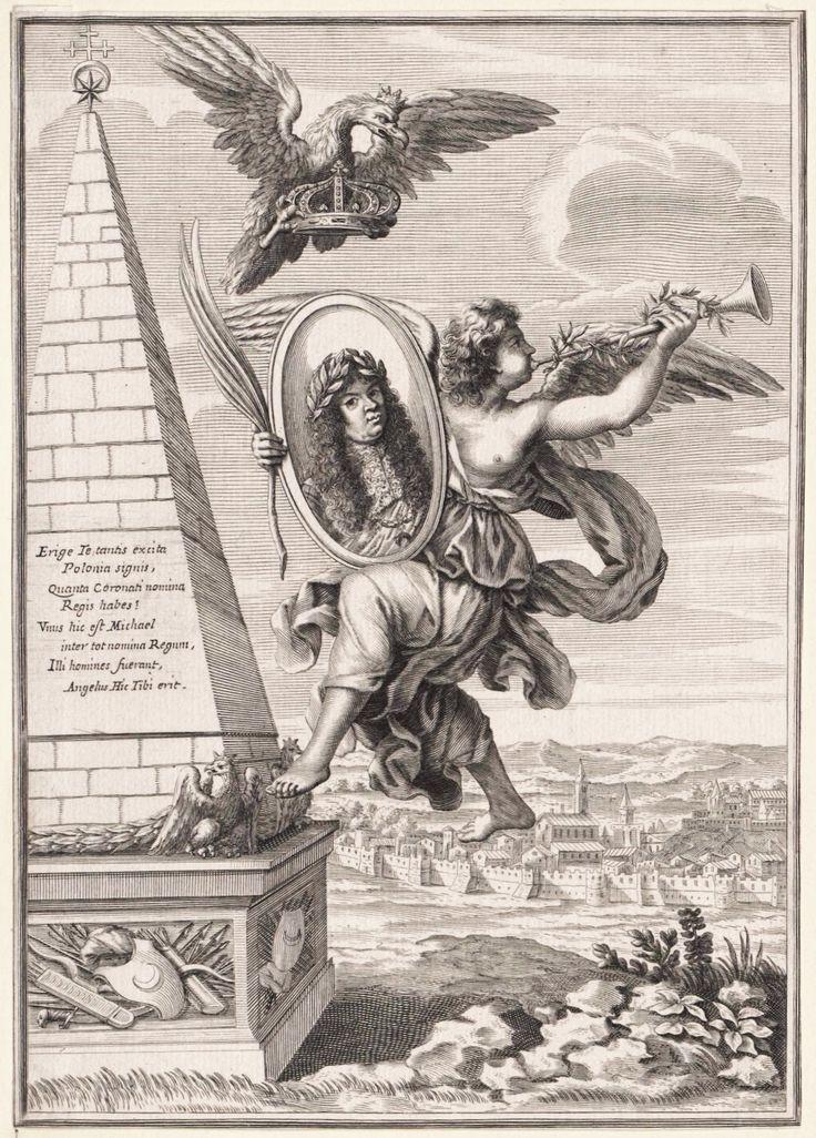 Apotheosis of Michael Korybut Wiśniowiecki by Albertus Clouwet, ca. 1669 (PD-art/old), Österreichische Nationalbibliothek