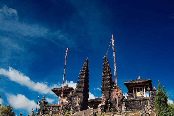 Mother Temple of Besakih, Bali.