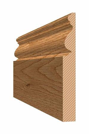 Oak Victorian Skirting Boards