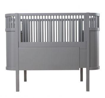 Killi Baby und Junior Bett von Sebra in grau neue Farbe 2014