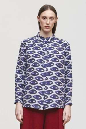 MES DAMES - JULIANNE SHIRT print
