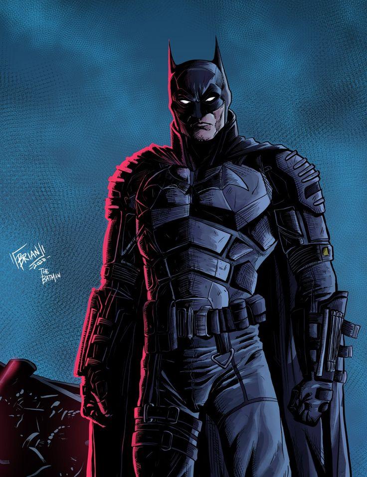 ArtStation The Batman (2021), Benedictus Brian in 2020