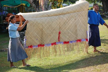 traditional samoan wedding mats | after the meaalofa was distributed we moved into the ava