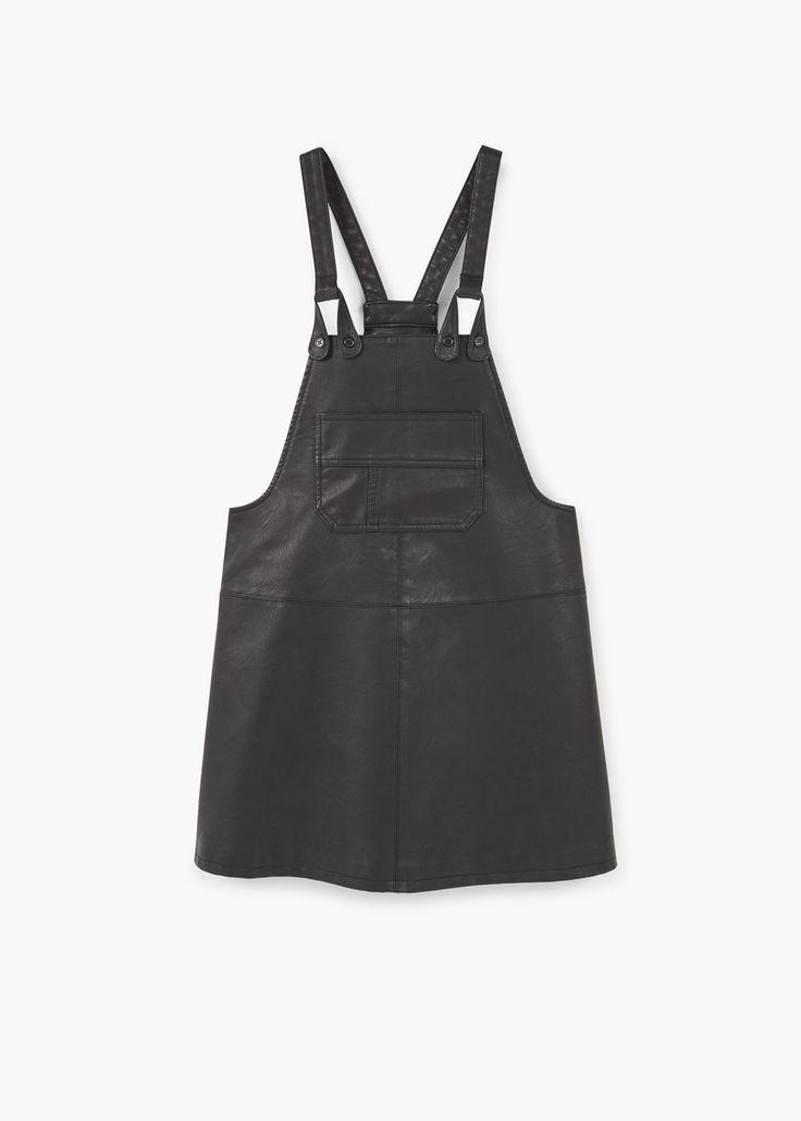 Pocket pinafore dress