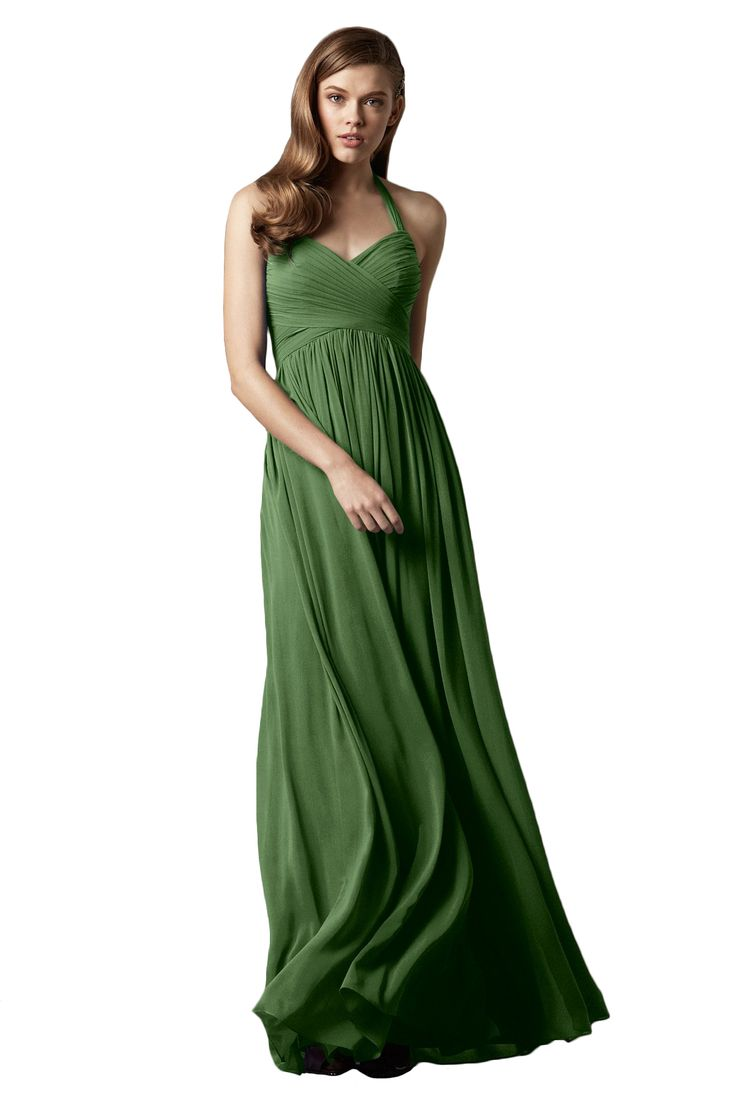 254 best bridesmaid images on pinterest marriage wedding and watters mulberry full length bridesmaid dress in emerald green in chiffon ombrellifo Image collections