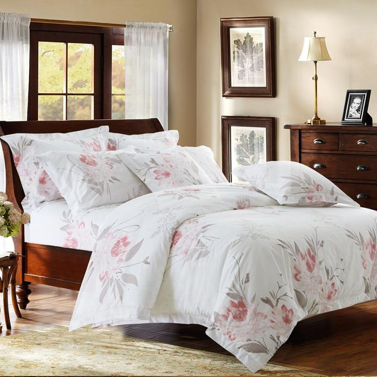 100 cotton luxury hotel bedding sets with simple print twin queen king size double bed