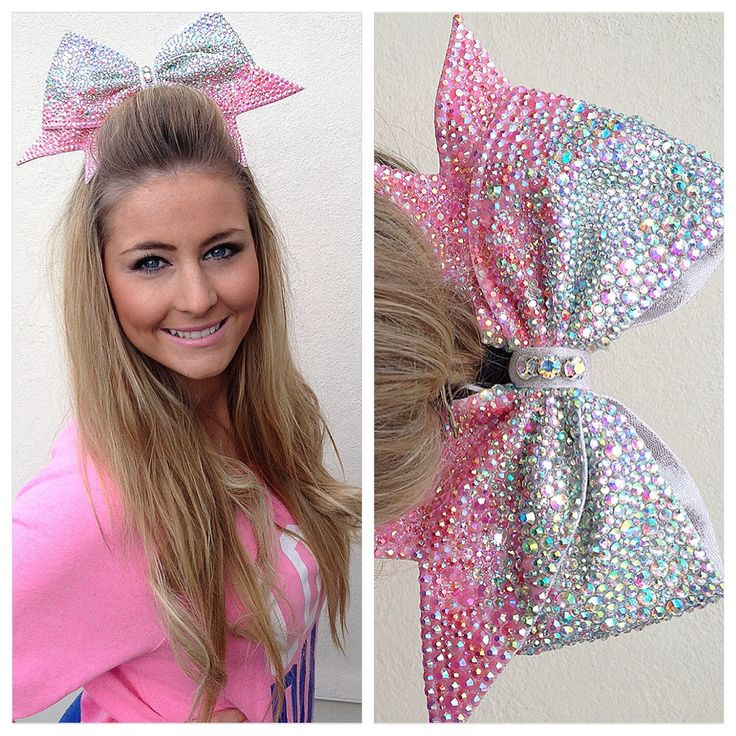 Own the biggest.. Most sparkly.. Cheer bow!  bows of london