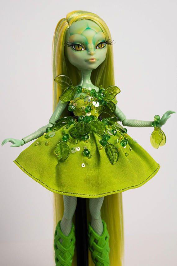 Simone Serpentine OOAK Custom Monster High CAM Gorgon Girl