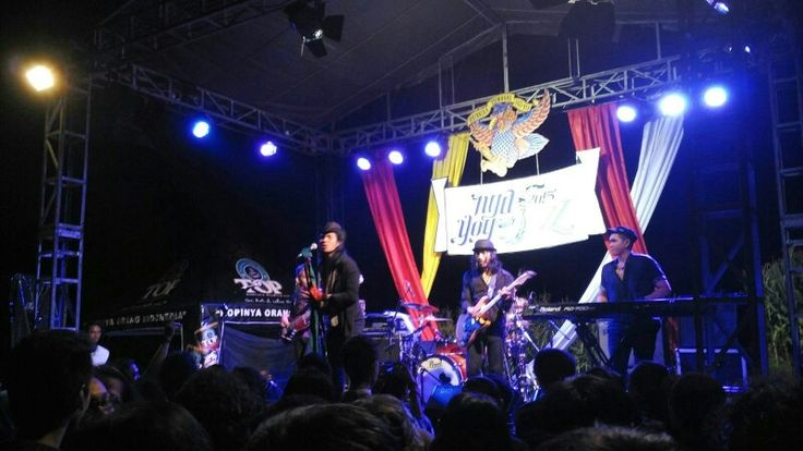 Gie was on the top performance on Ngayogjazz 2015