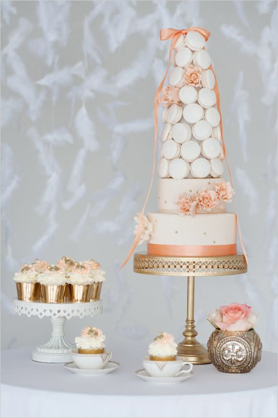 macaron wedding cake by City View Bakehouse