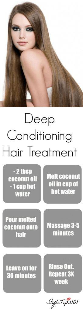 Deep Conditioning Hair Treatment Recipe